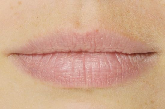 Lippen ohne Permanent Make-up